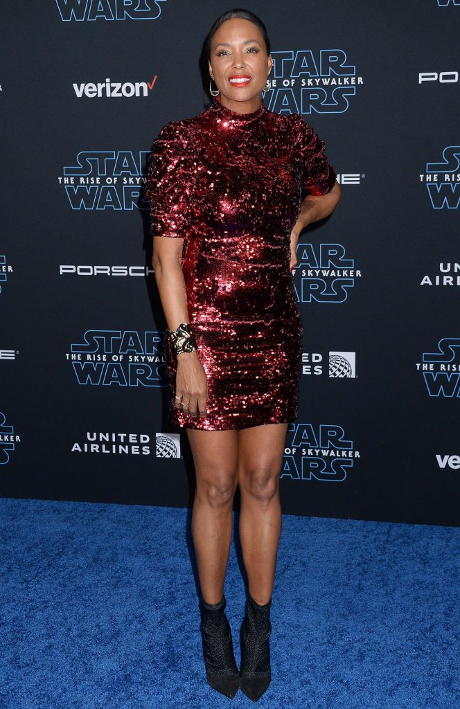 """Star Wars – The Rise Of Skywalker"" Premiere in LA – Aisha Tyler"