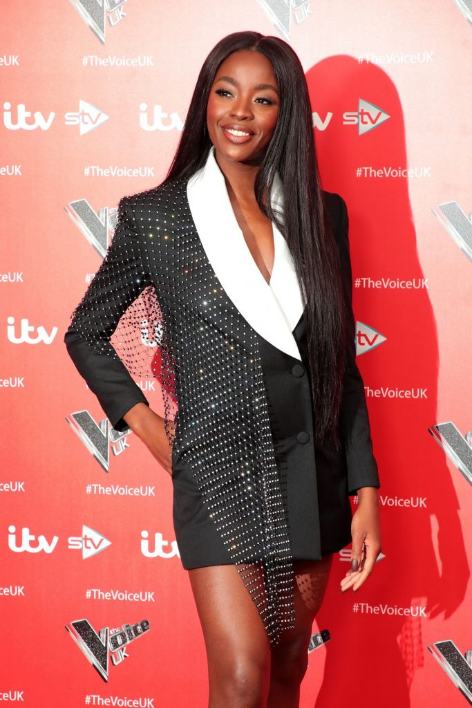 AJ Odudu – The Voice TV Show Photocall in London 2019