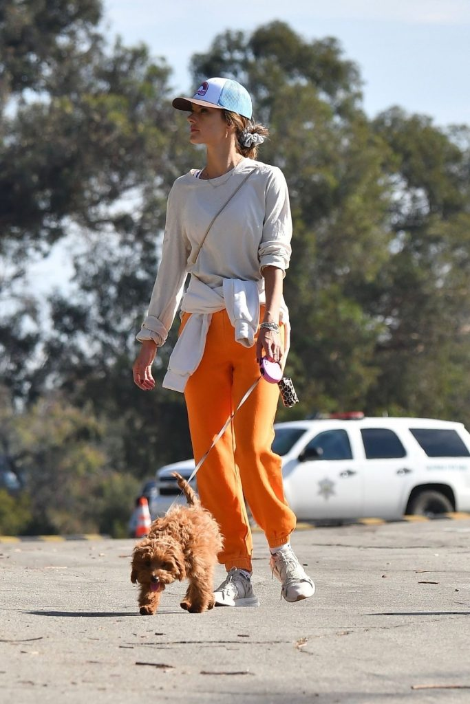 Alessandra Ambrosio – On a Hike in Brentwood 10 Photos
