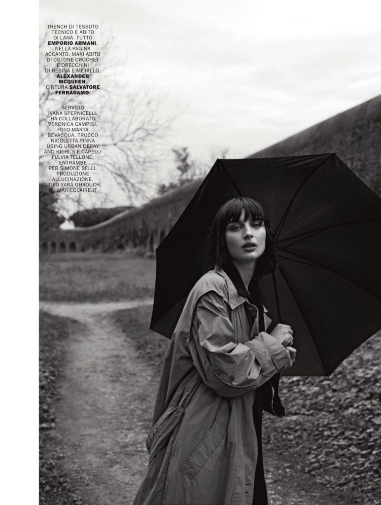 Marie Claire Italy January 2020 Issue: Alice Pagani