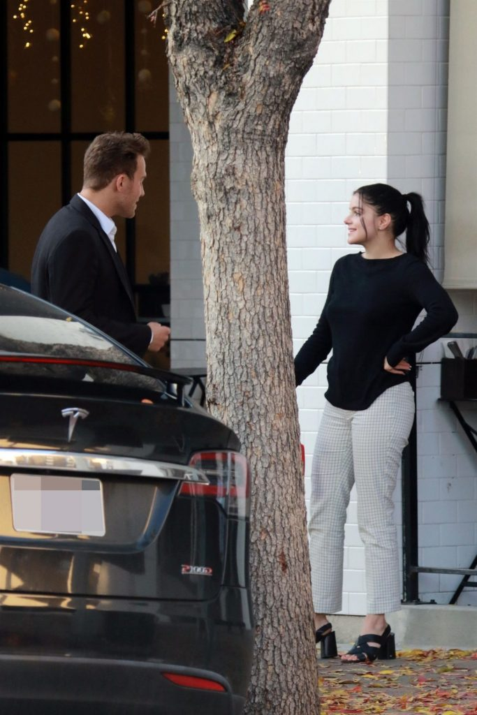Ariel Winter and Luke Benward – Outside Joan's on Third in Studio City
