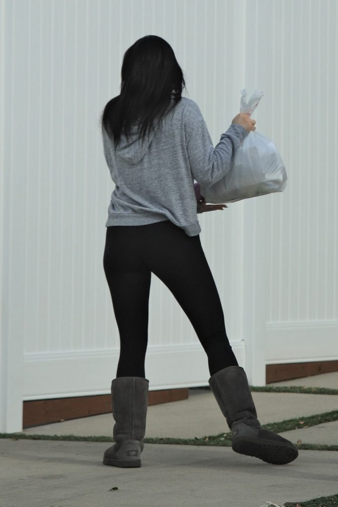 Ariel Winter – Gets Her Lunch Delivered in LA Dec 2019