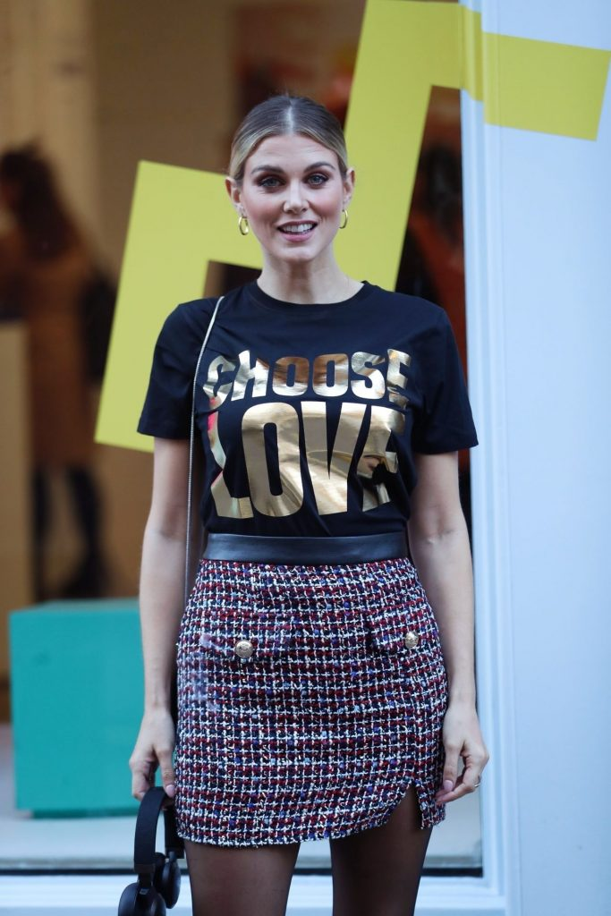 Ashley James – Choose Love Pop-Up Store Event in London 12-09-2019