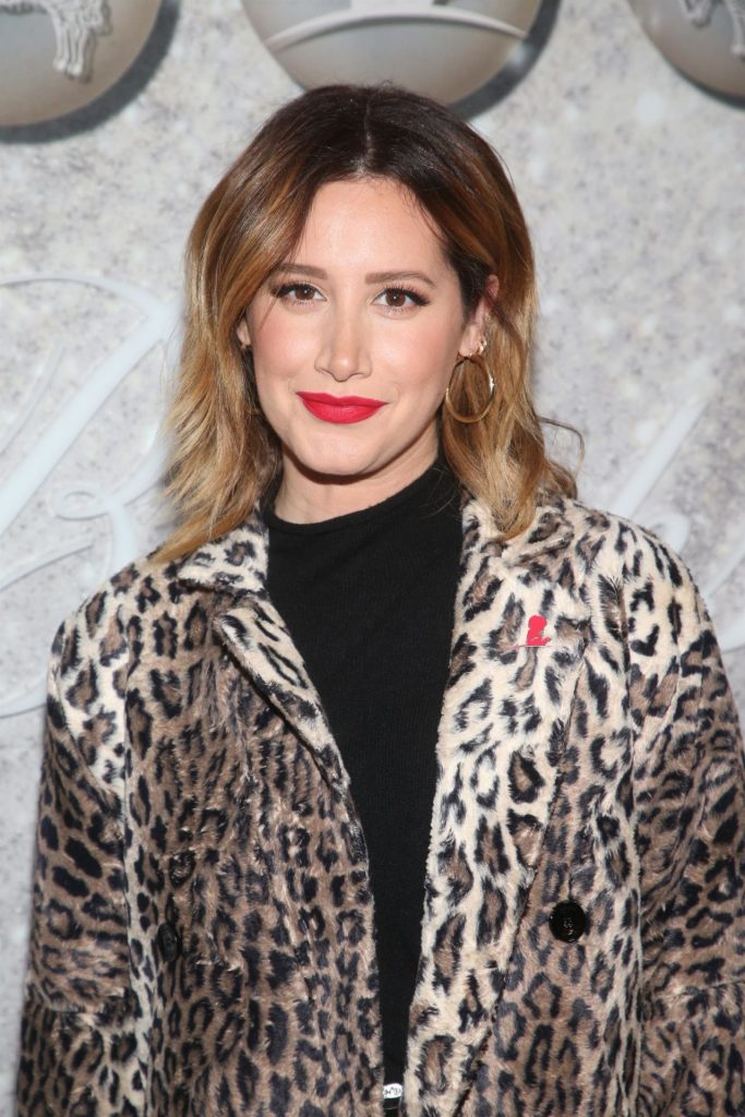 Ashley Tisdale – Holiday Celebration to Benefit St- Jude in West Hollywood 12-07-2019