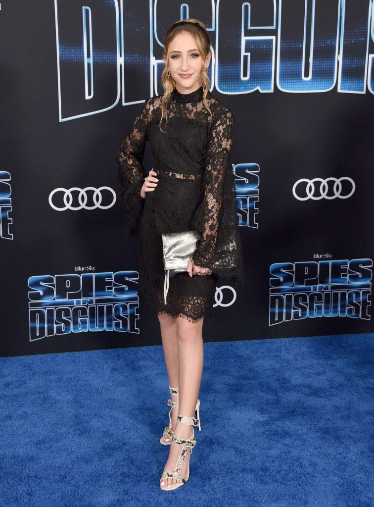 Ava Kolker Spies in Disguise Premiere in Hollywood