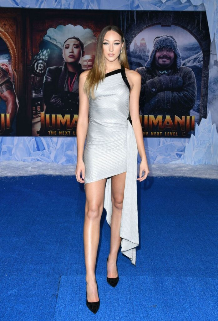 """Ava Michelle – """"Jumanji- The Next Level"""" Premiere in Hollywood"""