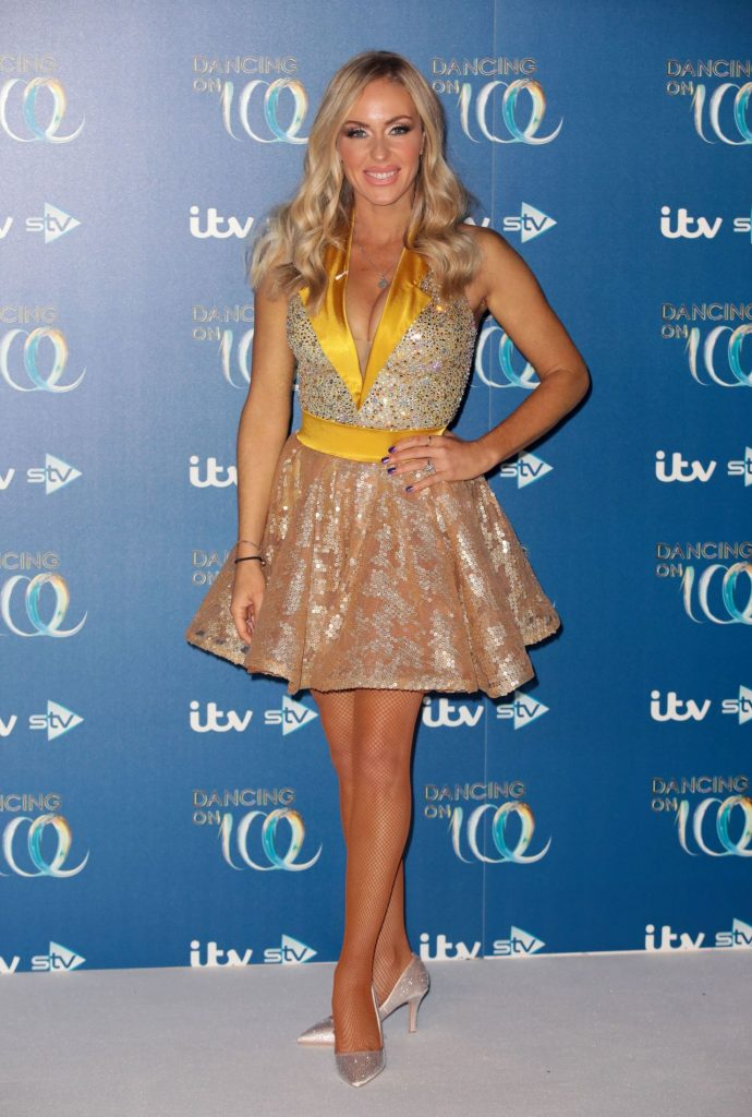 """Brianne Delcourt – """"Dancing On Ice"""" TV Show- Series 11 Launch Photocall"""