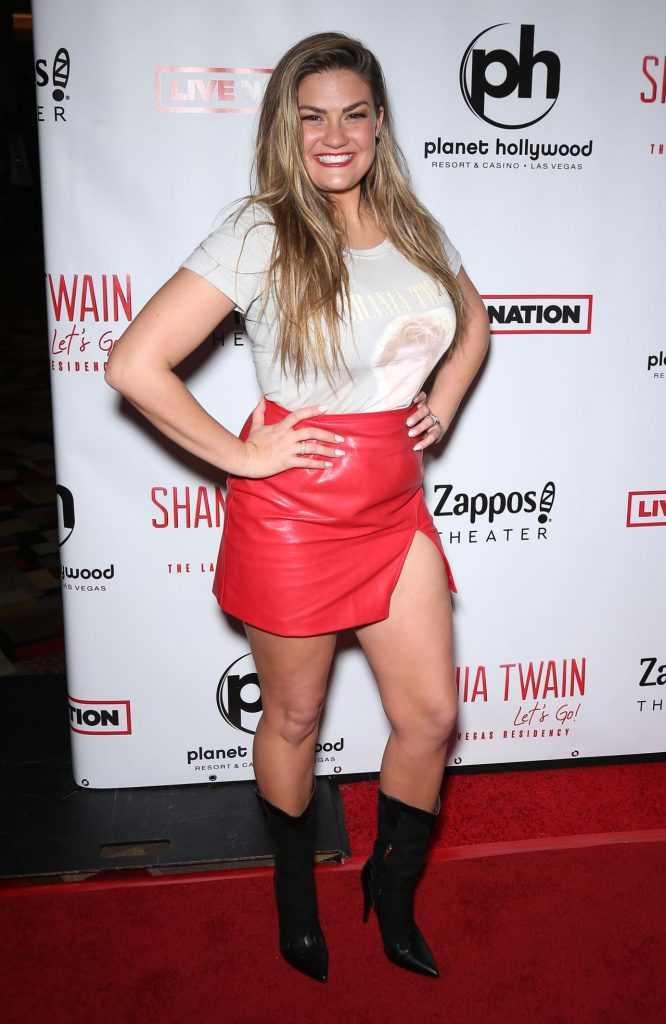 """Brittany Cartwright – Shania Twain """"Let's Go-"""" Residency Grand Opening in Las Vegas"""