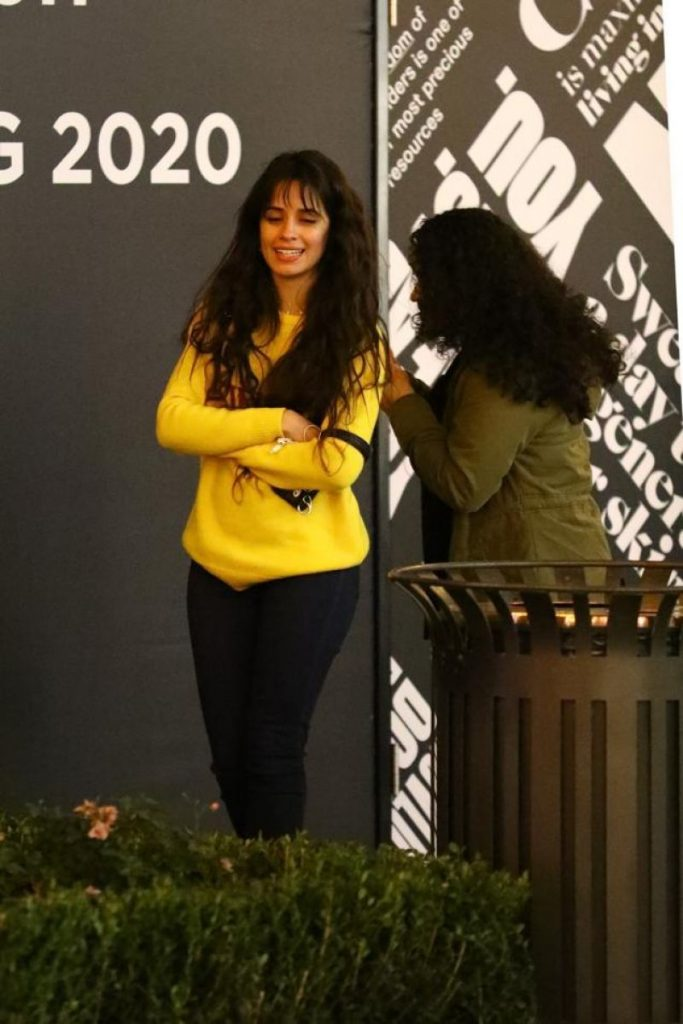 Christmas Shopping at The Grove: Camila Cabello