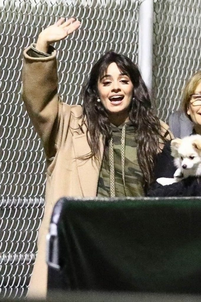 Camila Cabello – Leaving Jingle Ball in Inglewood 12-06-2019