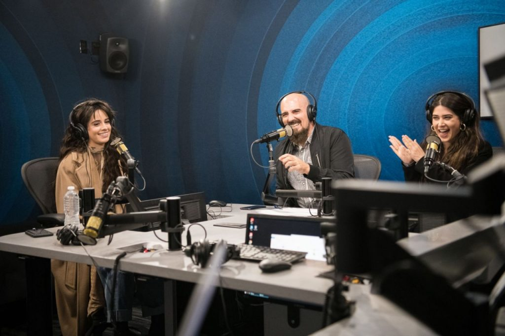 Camila Cabello – SiriusXM Hollywood Studio in LA 12-06-2019