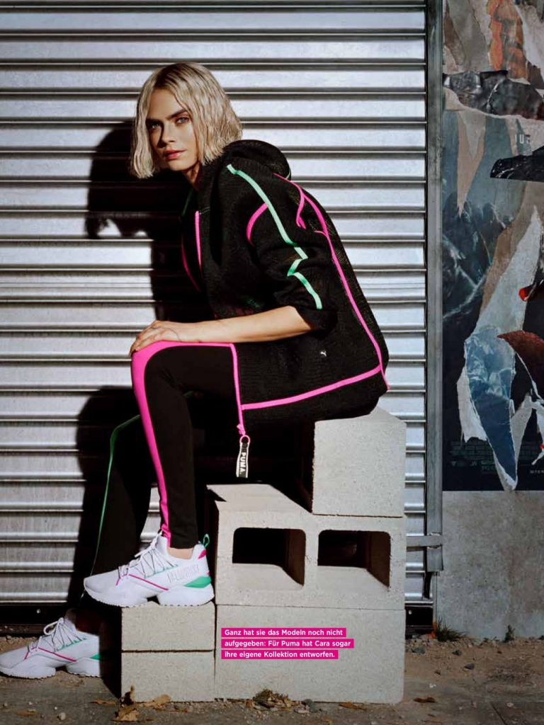Cara Delevingne – Moments Magazine December 2019 Issue