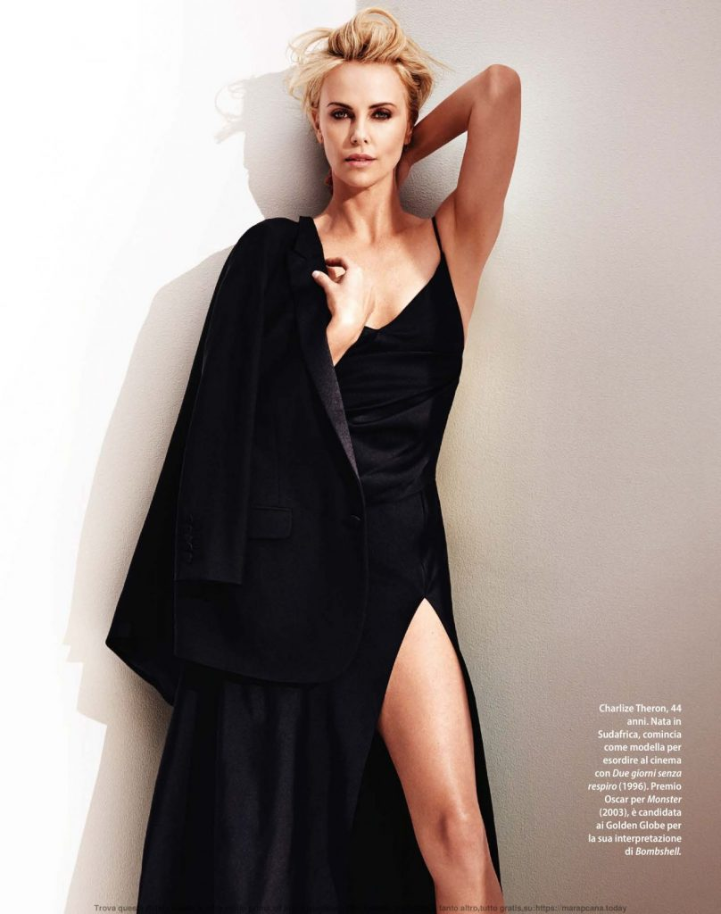 Charlize Theron F Magazine Jan 2020 Issue