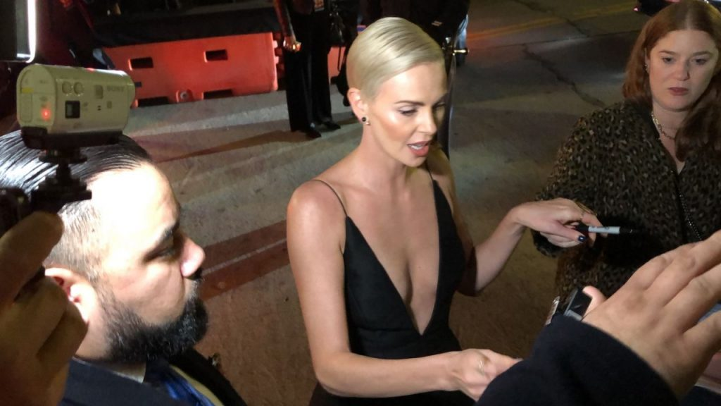 Charlize Theron – Greets Fans at the Bombshell Premiere in Westwood 2019