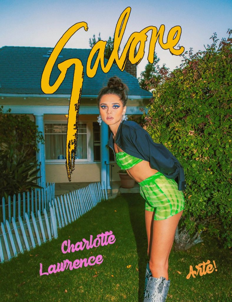 Charlotte Lawrence – Photoshoot for Galore Magazine December 2019