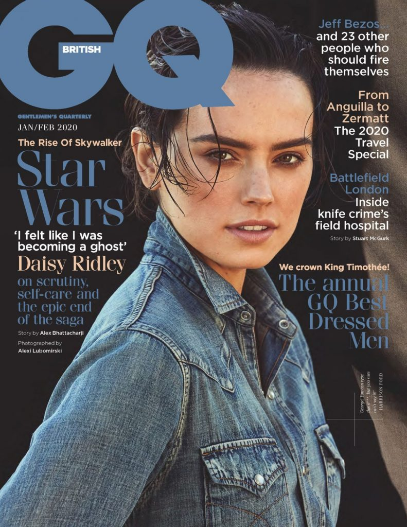 Daisy Ridley – GQ UK January-February 2020