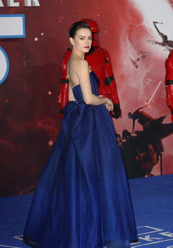 Star Wars The Rise of Skywalker Premiere in London: Daisy Ridley