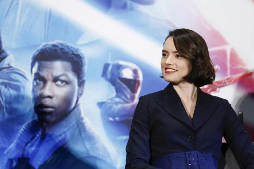 Daisy Ridley – Star Wars The Rise of Skywalker Press Conference in Tokyo