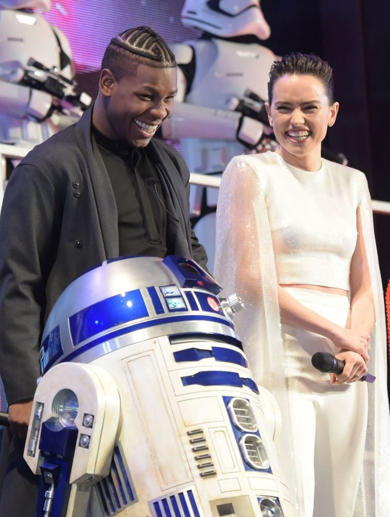 Daisy Ridley Star Wars The Rise of Skywalker Special Fan Event in Tokyo