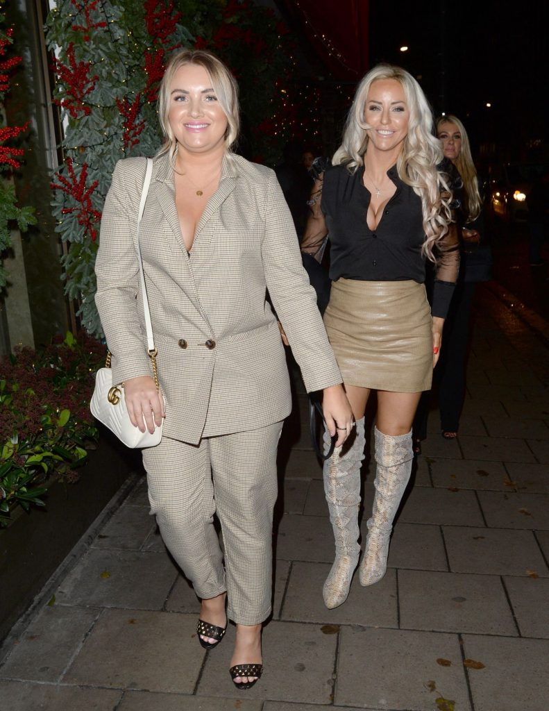Danielle Mason Night Out Style 12-06-2019