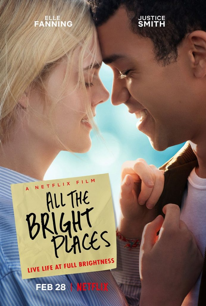 Elle Fanning – All the Bright Places Promo TV Poster 2019