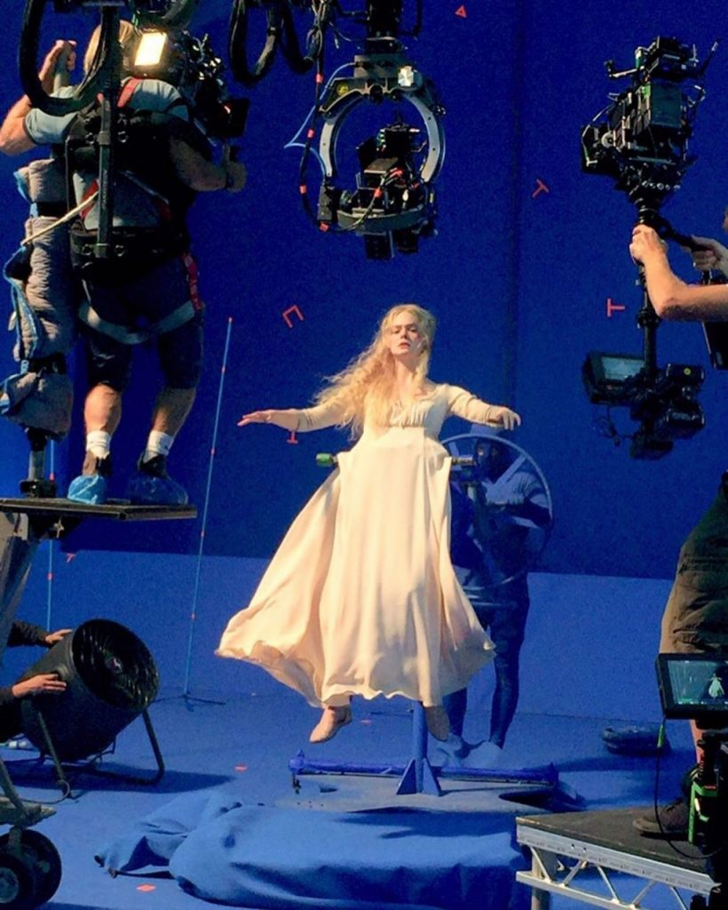 Elle Fanning – Maleficent- Mistress of Evil December 2019 Pics