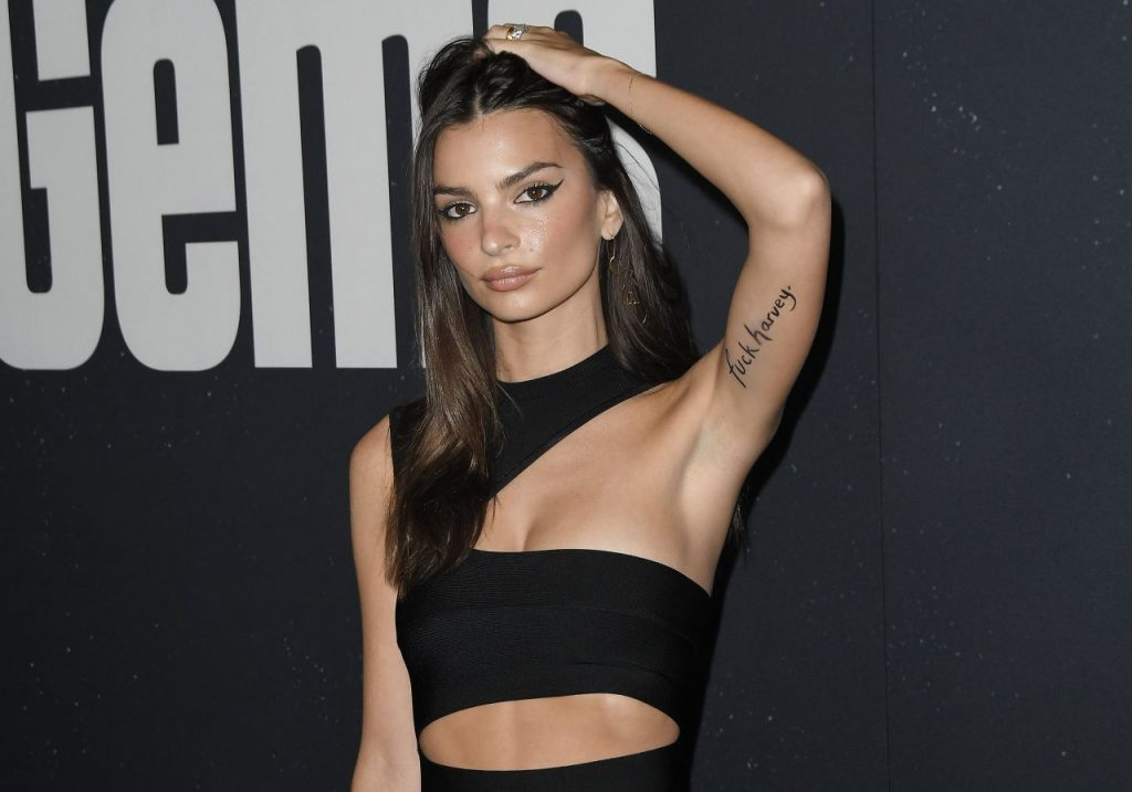 Emily Ratajkowski Uncut Gems Premiere in Hollywood