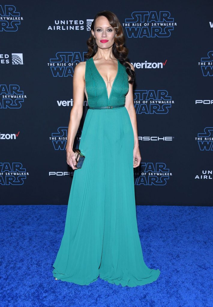 "Star Wars The Rise Of Skywalker"" Premiere in LA: Emily Swallow"