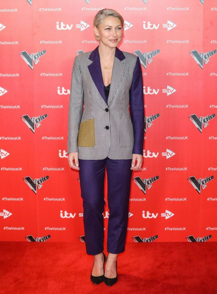 Emma Willis – The Voice TV Show Photocall in London 2019