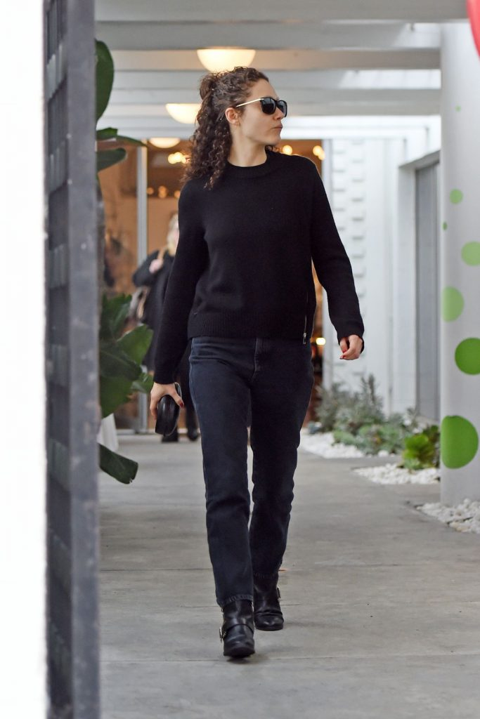 Emmy Rossum – Holiday Shopping in Beverly Hills December 2019