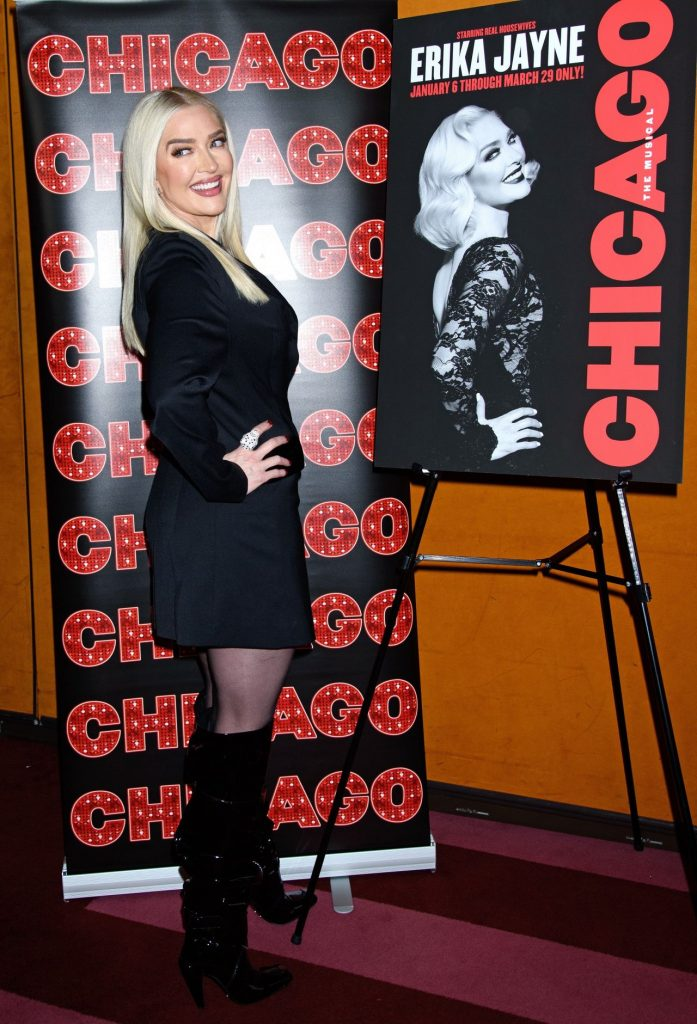 Chicago Broadway Photocall in NY: Erika Jayne 2019