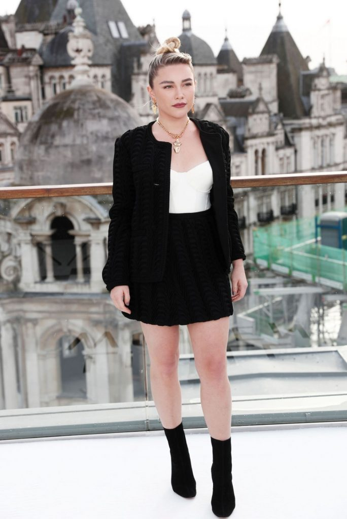 Florence Pugh Little Women Photocall in London 2019