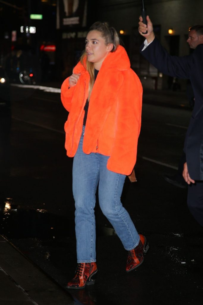 Florence Pugh – Out in NYC