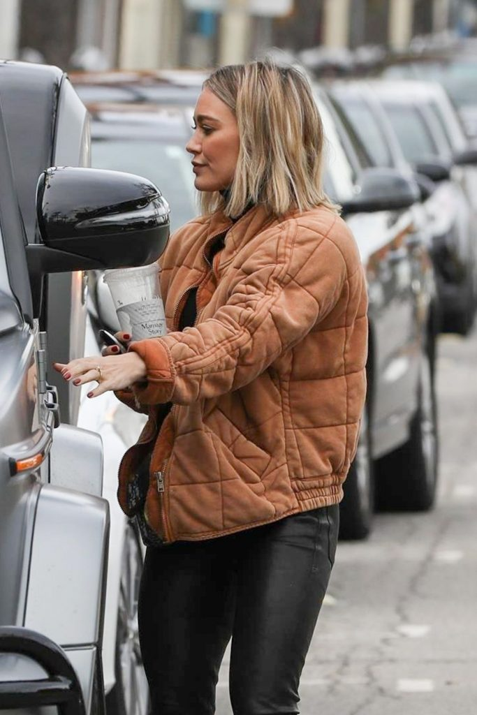 Hilary Duff – Out in Studio City 12-10-2019
