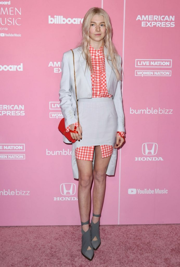Hunter Schafer – Billboard Women in Music 2019 in Los Angeles