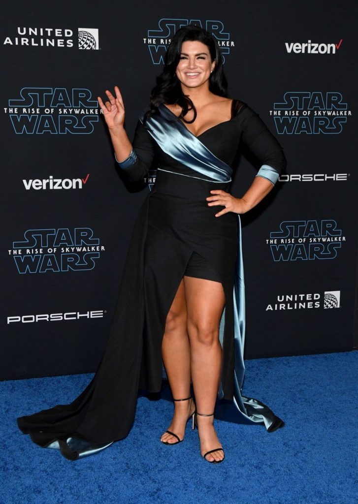 Gina Carano – Star Wars The Rise Of Skywalker Premiere Dec 2019