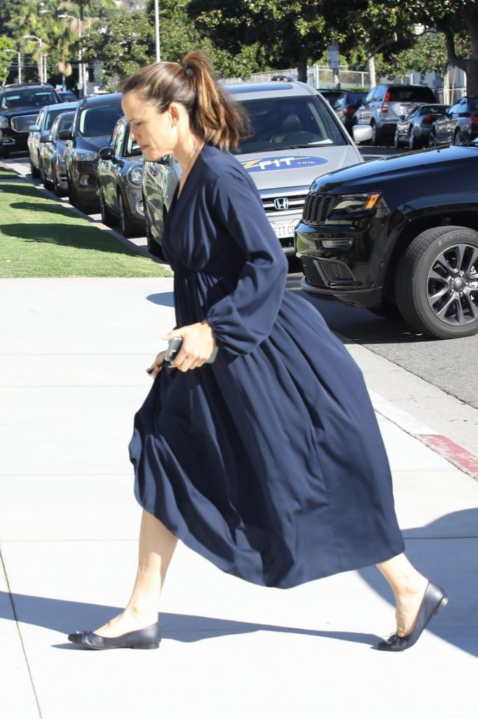 Jennifer Garner – Sunday Church Service in Pacific Palisades December 2019