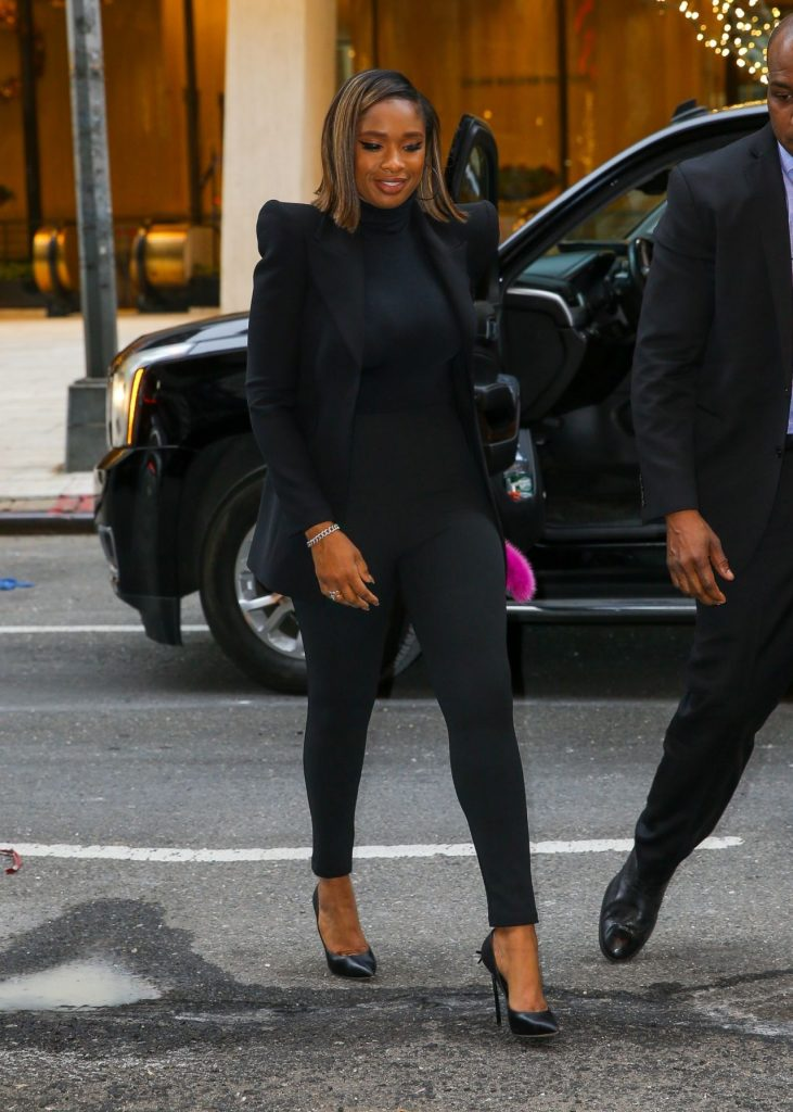 Promoting Cats in NYC: Jennifer Hudson 2019