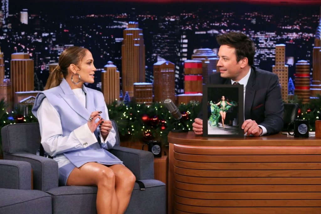 Jennifer Lopez – Tonight Show With Jimmy Fallon in New York 12-05-2019