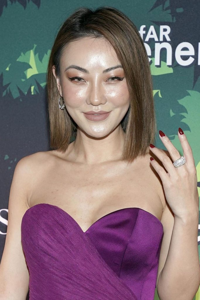 Jessica Wang – amfAR GenerationCURE Holiday Party in NYC