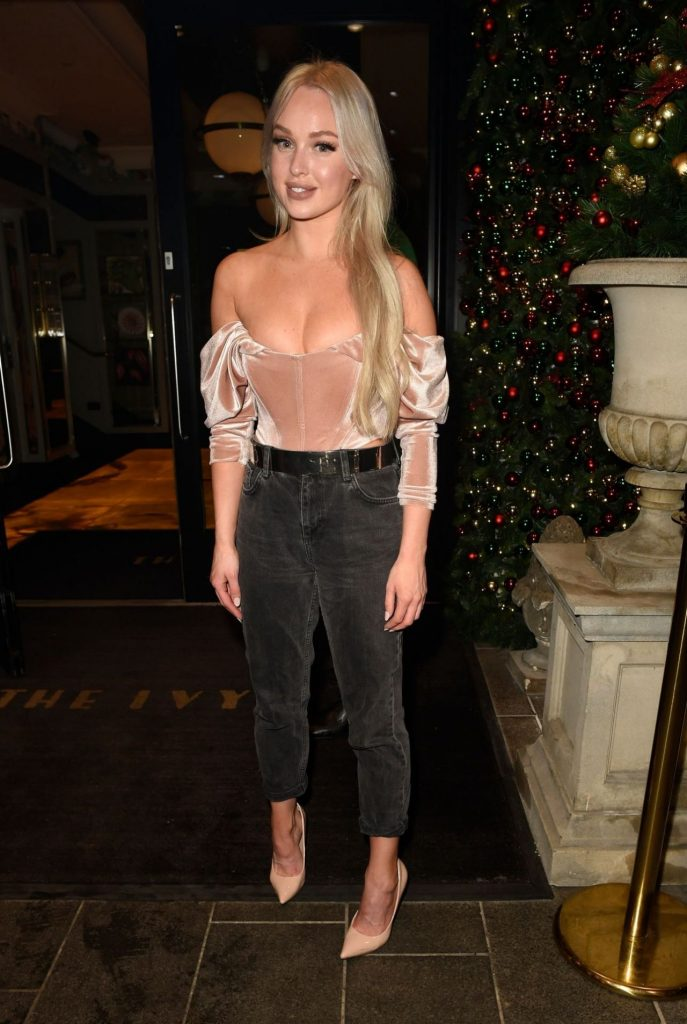 Jorgie Porter – Night Out at The Ivy Restaurant in Manchester 12-06-2019