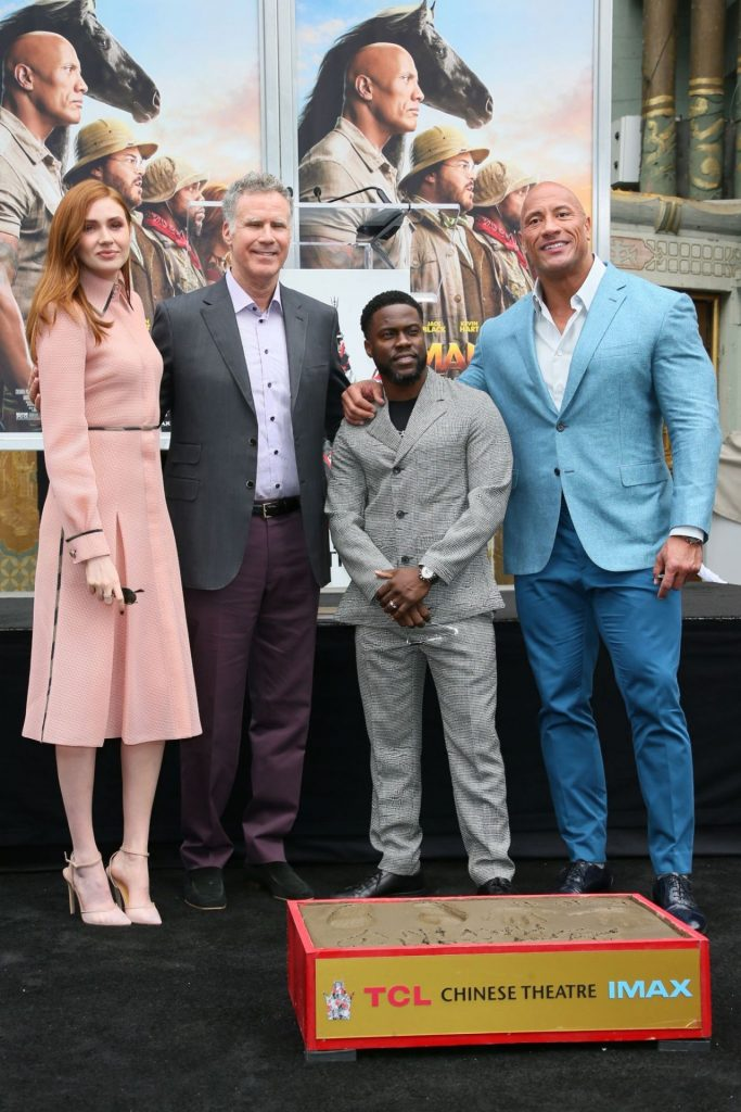Karen Gillan – Kevin Hart Hand and Footprints Ceremony in Hollywood