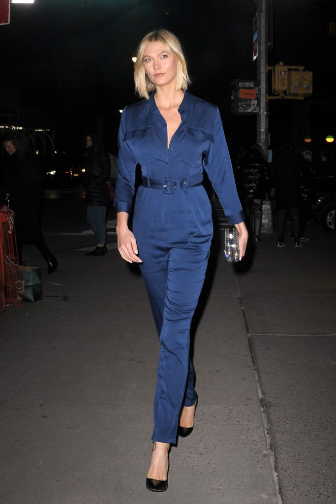 Karlie Kloss Night Out in NYC December 2019