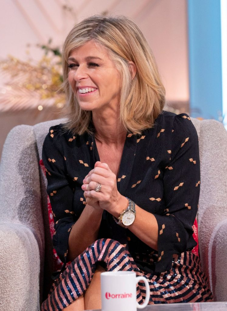 Lorraine TV Show in London: Kate Garraway 2019