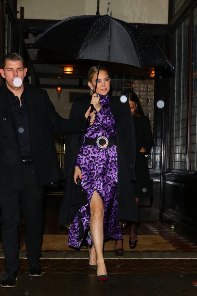 Kate Hudson – Leaving Her Hotel in NYC 12-09-2019
