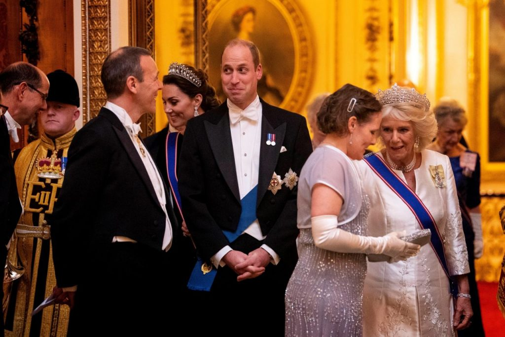 Kate Middleton – Evening Reception for Members of the Diplomatic Corps in London