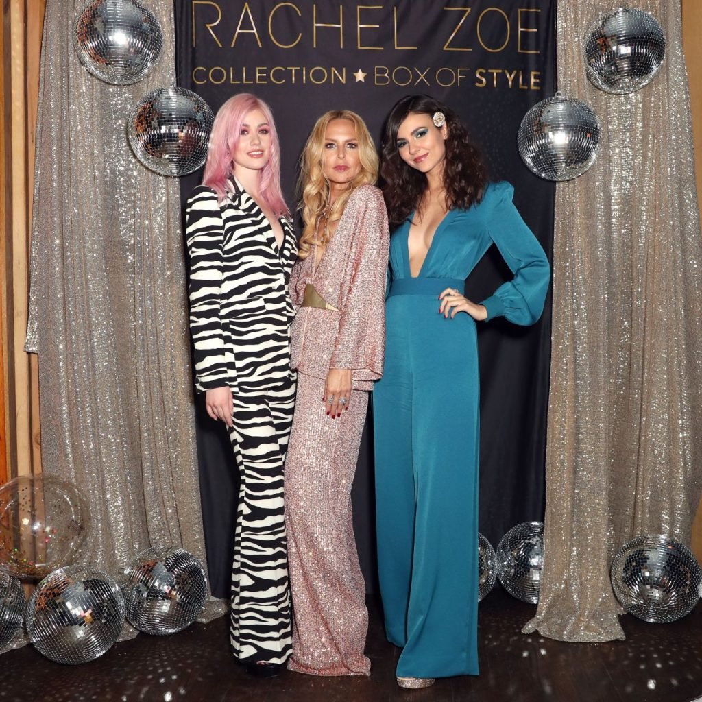 Victoria Justice and Katherine McNamara – Rachel Zoe Collection Box Style Holiday Event With Tanqueray in LA