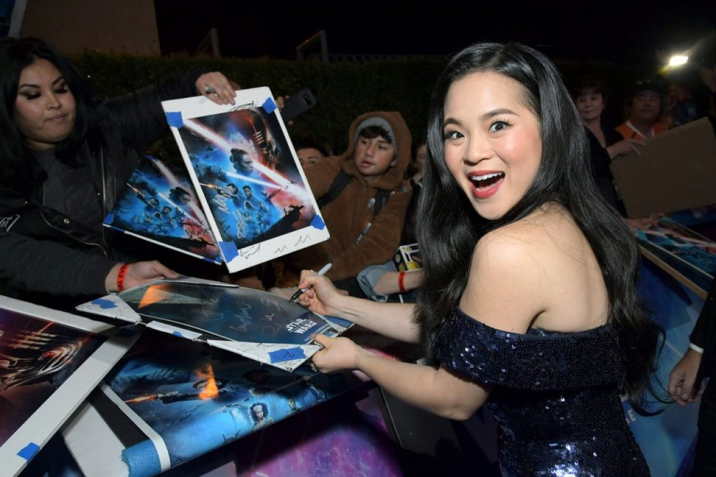 Kelly Marie Tran – Star Wars- The Rise Of Skywalker Premiere 2019