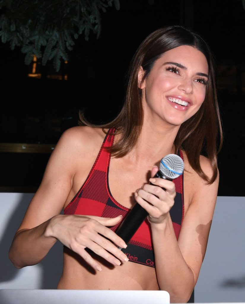 Kendall Jenner – Calvin Klein Pajama Party in New York City