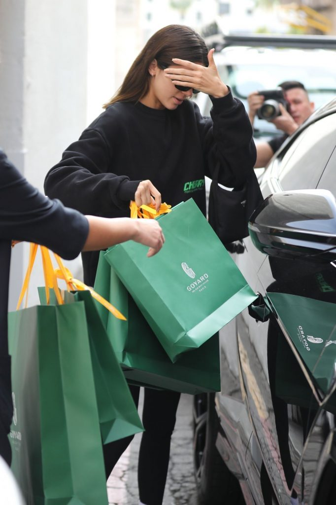 Kendall Jenner – Shopping in Beverly Hills 2019